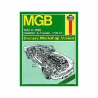Haynes Manual MGB 1962-80 1.8 Petrol Roadster GT Coupe Workshop